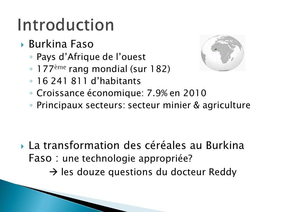 Introduction Burkina Faso