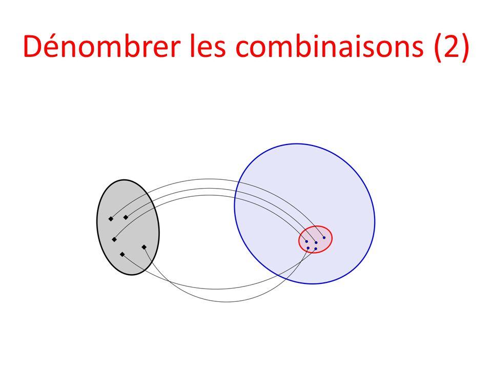 Dénombrer les combinaisons (2)