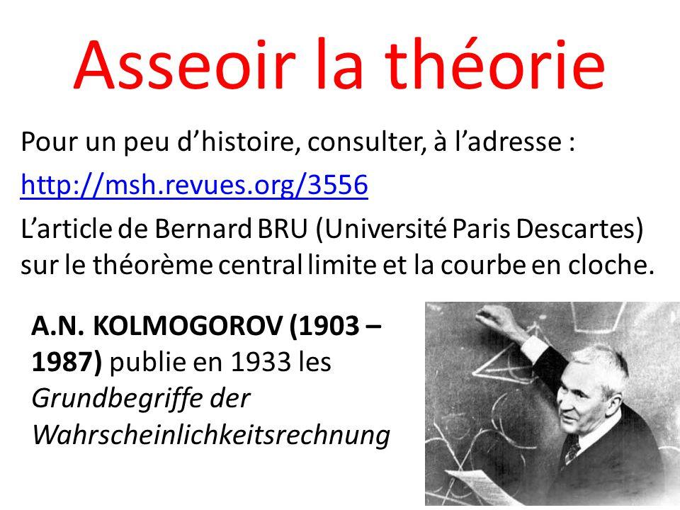 Asseoir la théorie