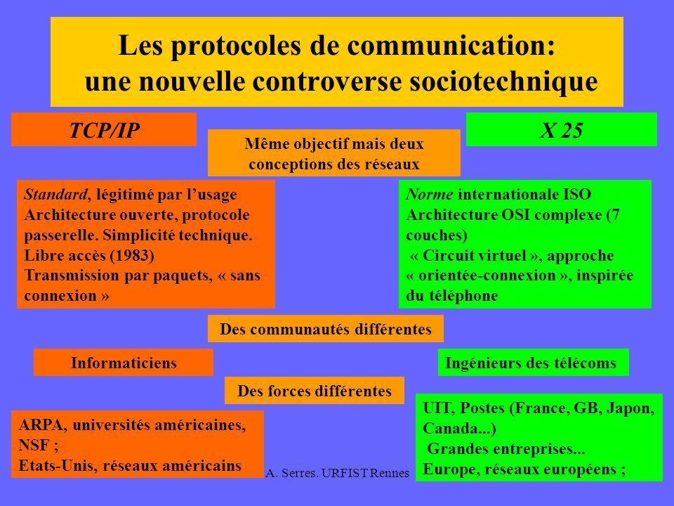 Les protocoles de communication: une nouvelle controverse sociotechnique