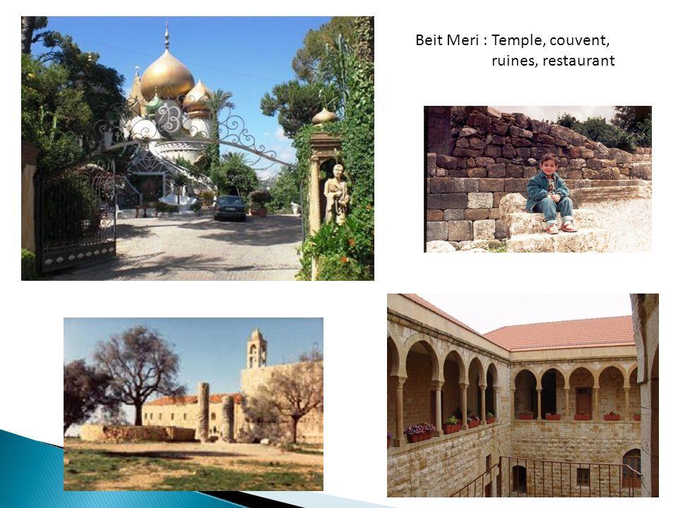 Beit Meri : Temple, couvent,