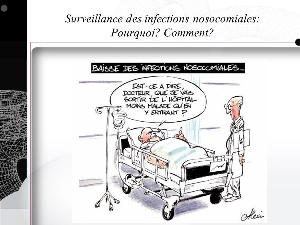 Surveillance des infections nosocomiales: Pourquoi Comment
