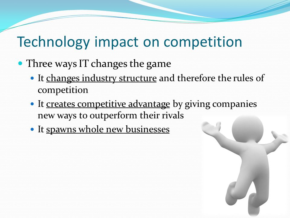 Technology impact on competition
