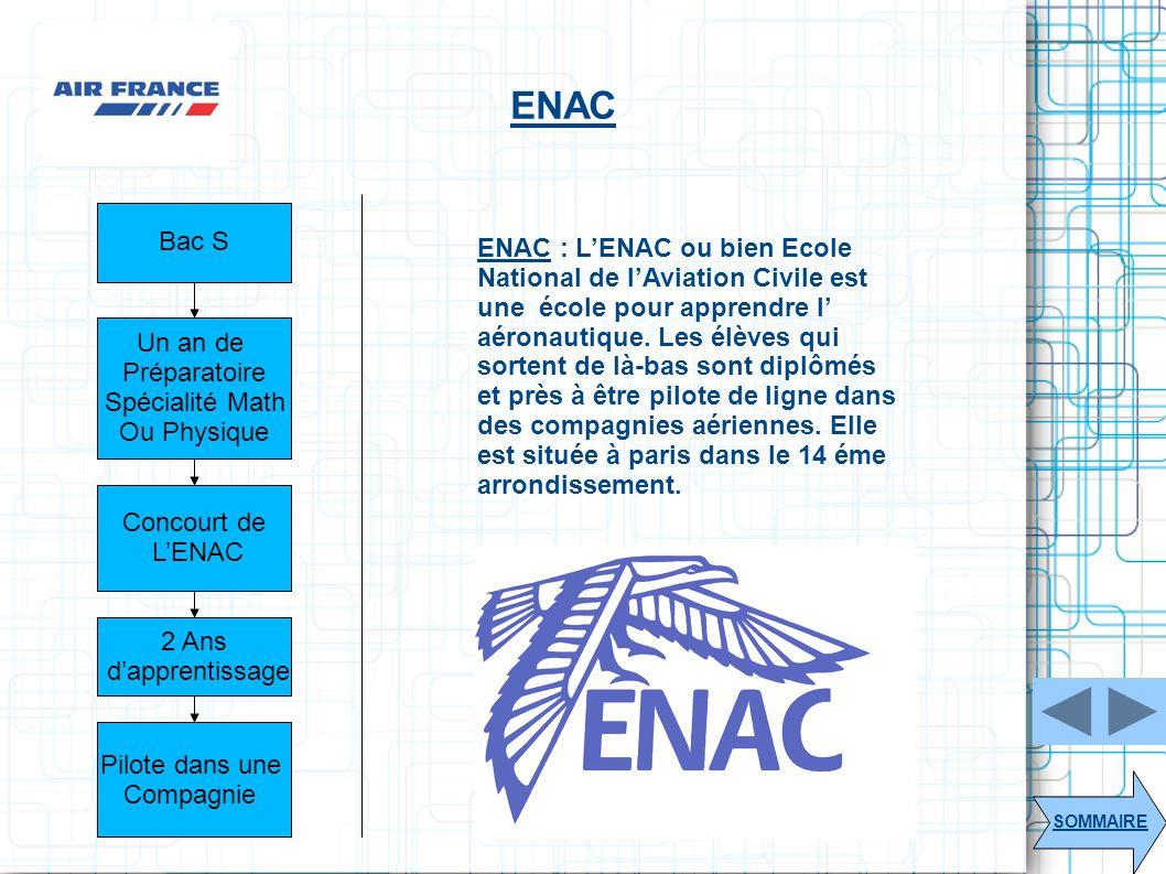 ENAC Bac S.