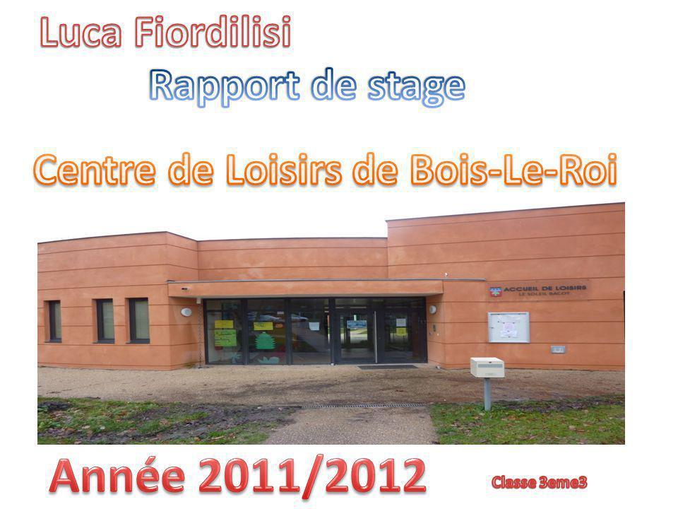 Centre de Loisirs de Bois-Le-Roi