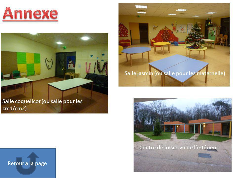 Annexe Salle jasmin (ou salle pour les maternelle)