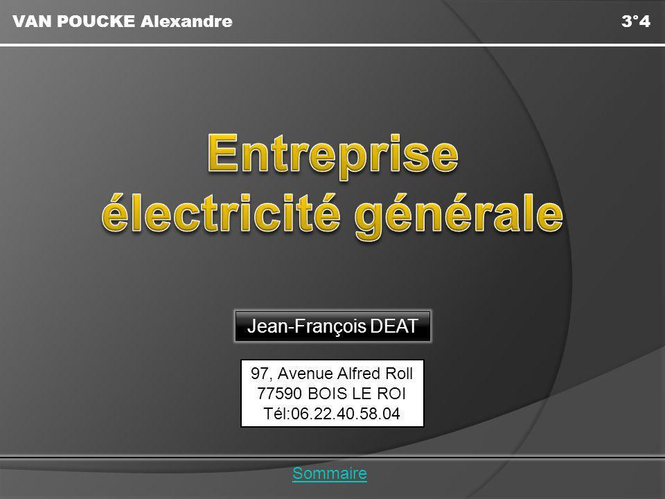 Entreprise électricité générale