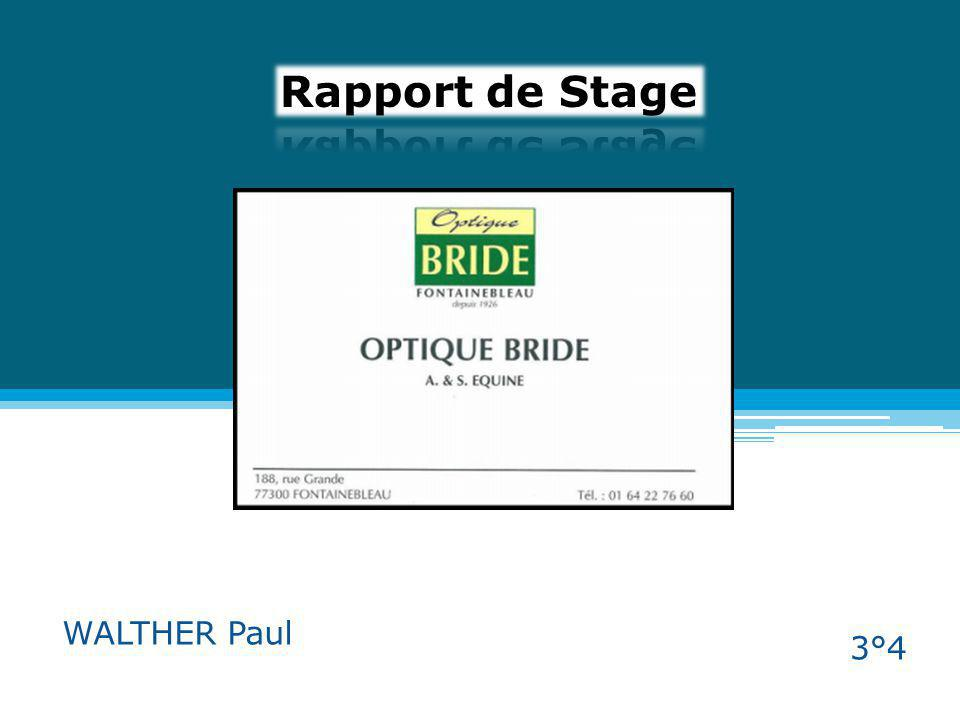 Rapport de Stage WALTHER Paul 3°4