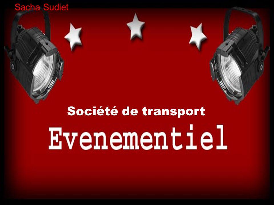 Sacha Sudiet Société de transport