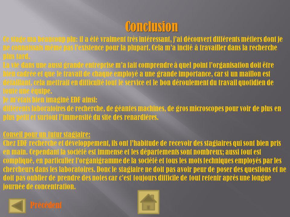 Rapport de stage en entreprise edf sur le site des renardi res ppt t l charger - Organisation m u00e9nage quotidien ...