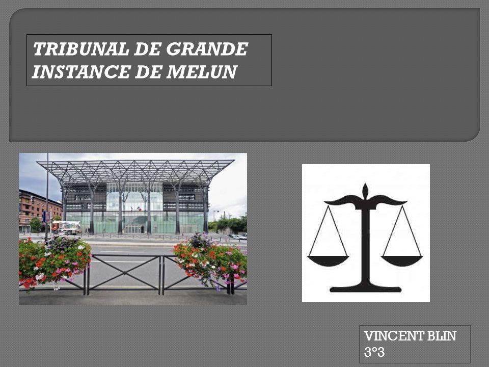TRIBUNAL DE GRANDE INSTANCE DE MELUN
