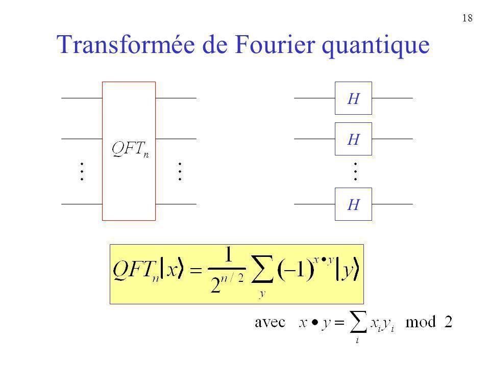 Transformée de Fourier quantique