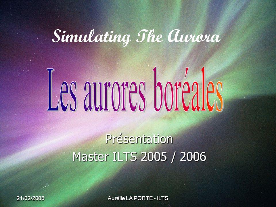 Présentation Master ILTS 2005 / 2006