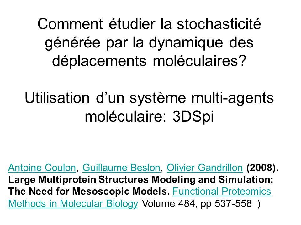 Utilisation d'un système multi-agents moléculaire: 3DSpi