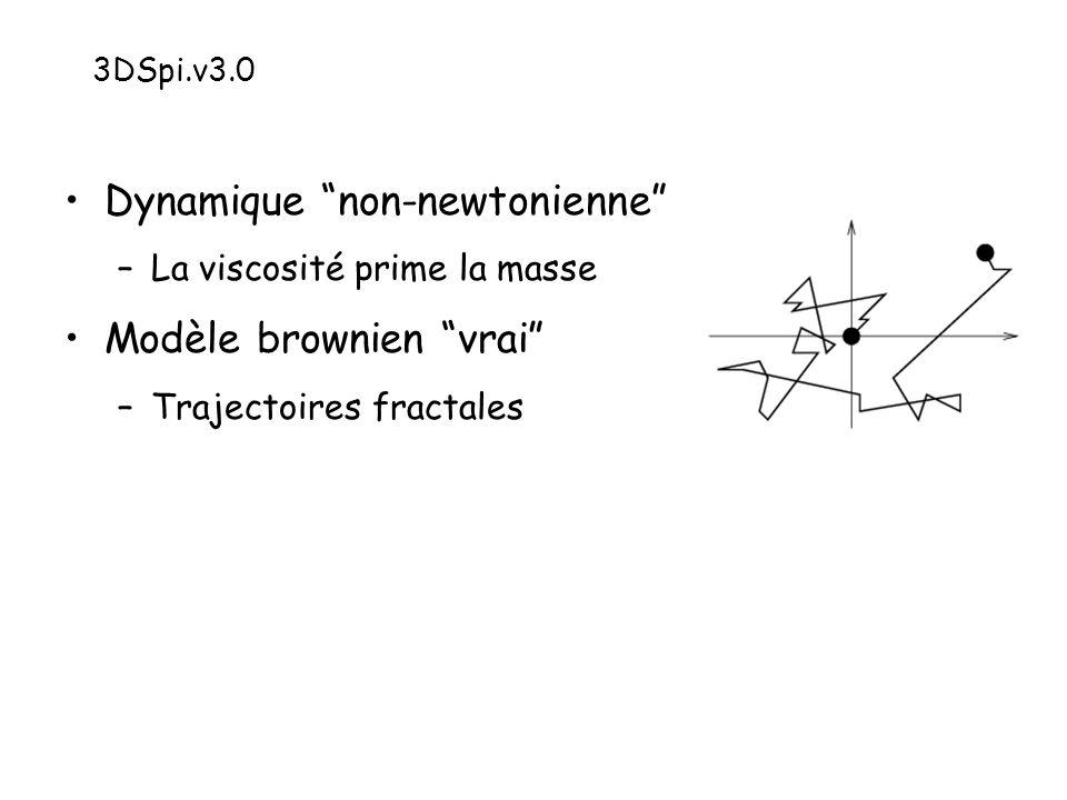 Dynamique non-newtonienne