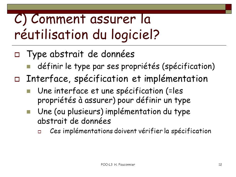 C) Comment assurer la réutilisation du logiciel