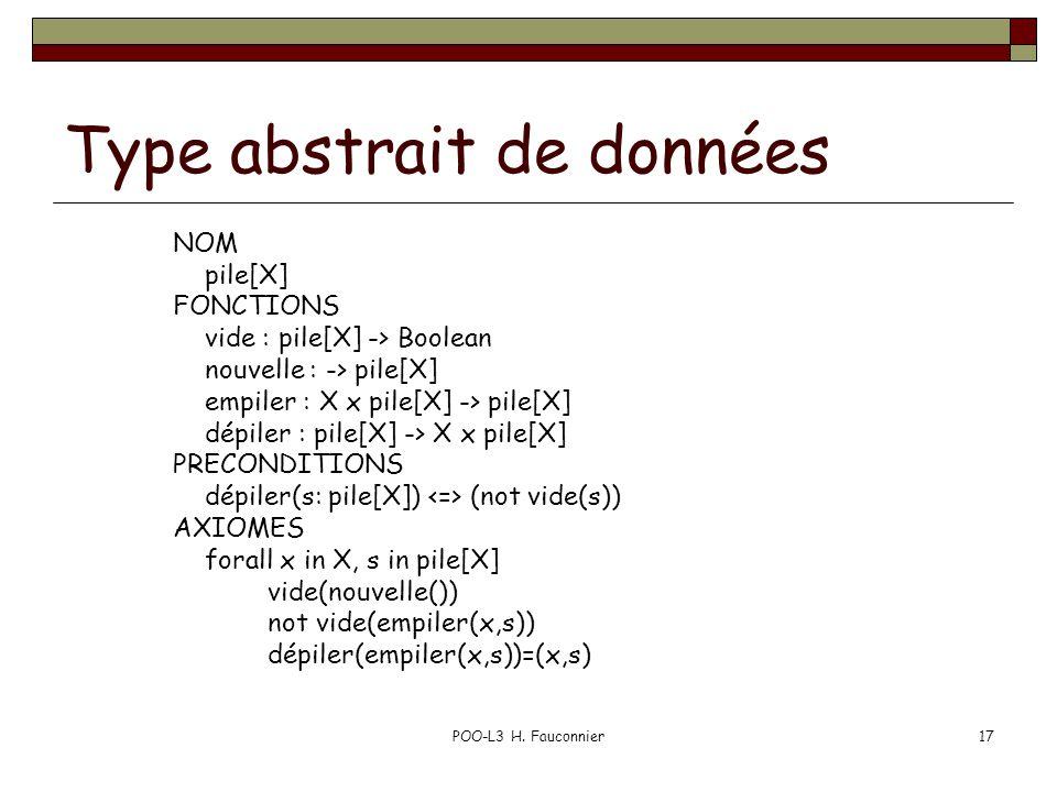 Type abstrait de données
