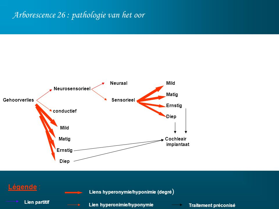 Arborescence 26 : pathologie van het oor