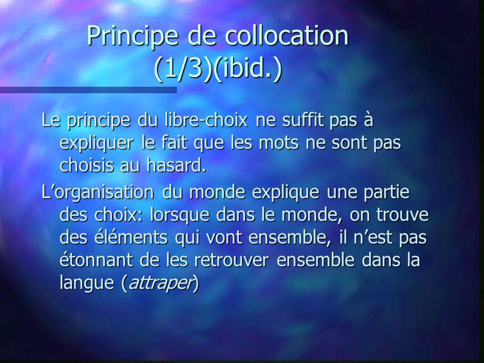 Principe de collocation (1/3)(ibid.)