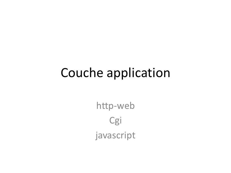 http-web Cgi javascript