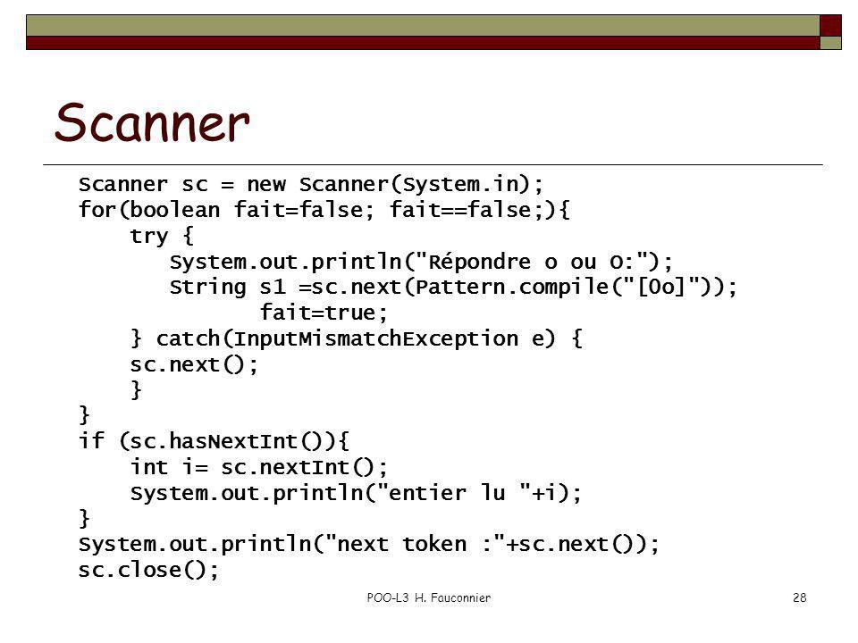 Scanner Scanner sc = new Scanner(System.in);