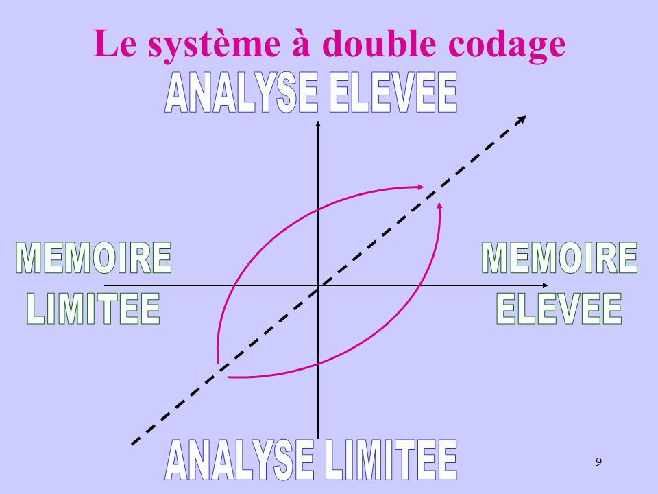 Le système à double codage