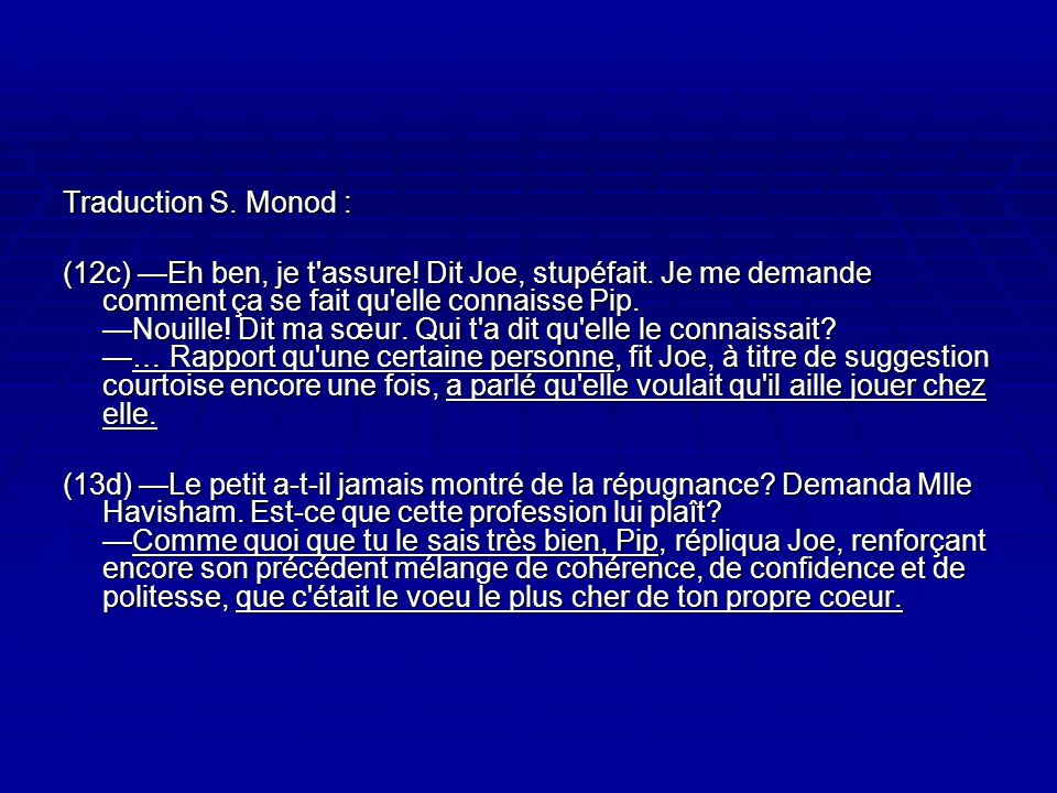 Traduction S. Monod :