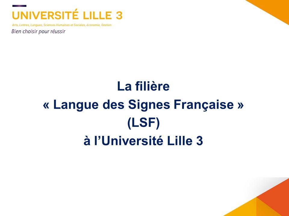 « Langue des Signes Française »