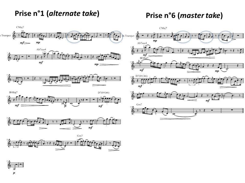 Prise n°1 (alternate take)