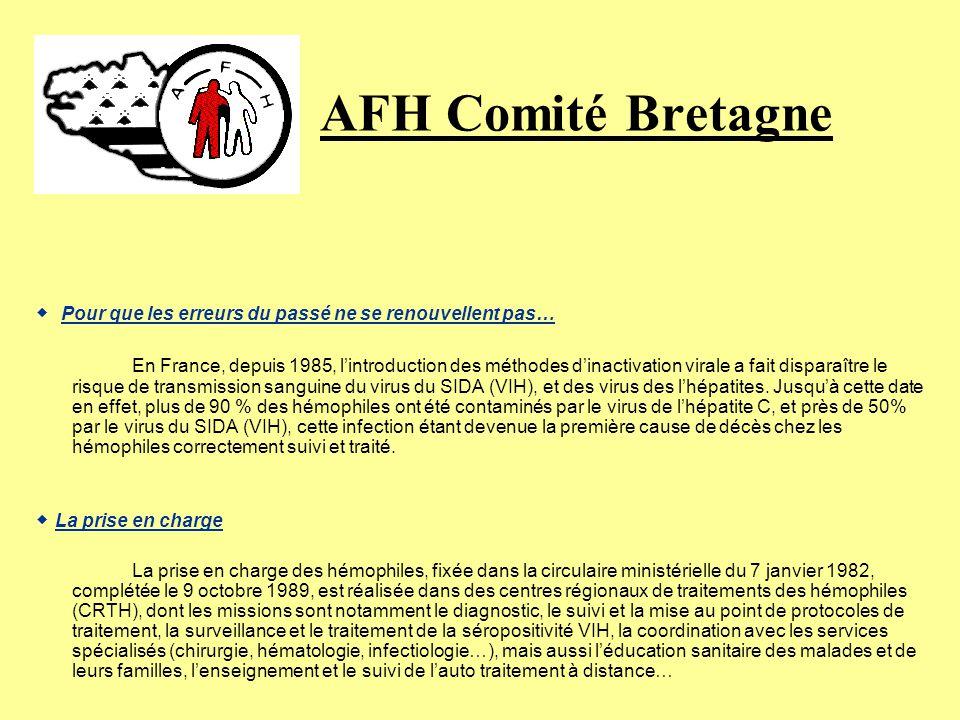 AFH Comité Bretagne ◆ Pour que les erreurs du passé ne se renouvellent pas…