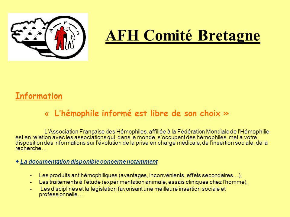 AFH Comité Bretagne Information