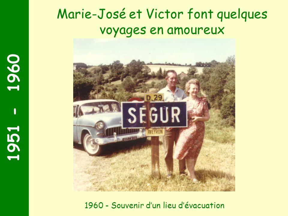 Marie-José et Victor font quelques voyages en amoureux