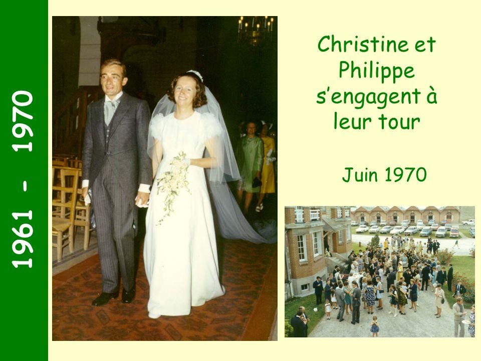 Christine et Philippe s'engagent à leur tour