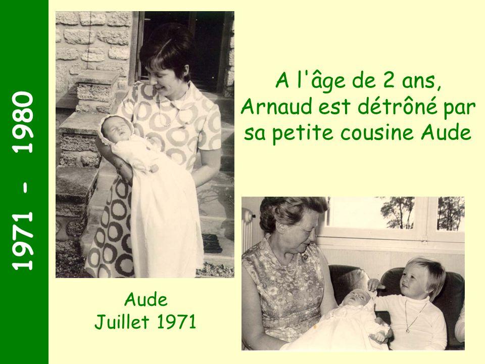 Arnaud est détrôné par sa petite cousine Aude