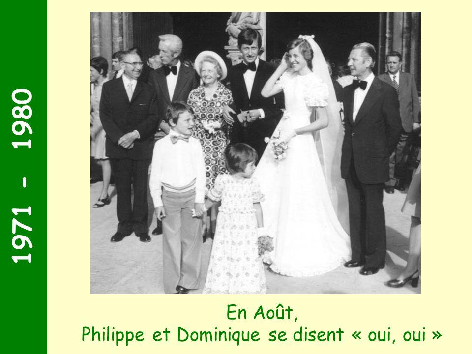 Philippe et Dominique se disent « oui, oui »