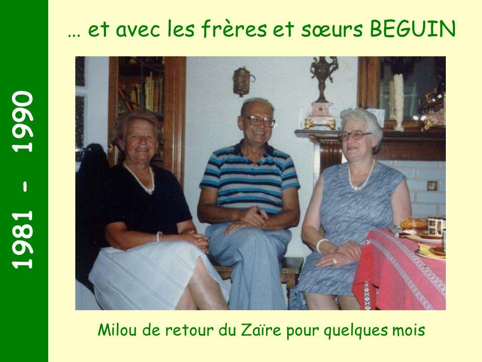 … et avec les frères et sœurs BEGUIN