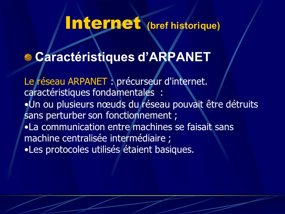 Internet (bref historique)