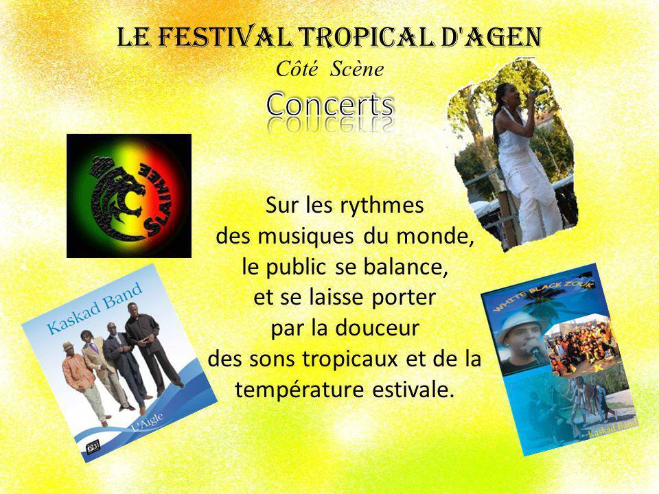 Le Festival Tropical d Agen Côté Scène Concerts
