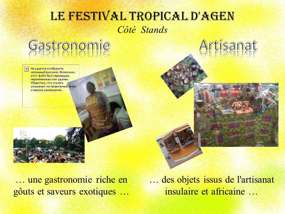 Le Festival Tropical d Agen Côté Stands Gastronomie Artisanat