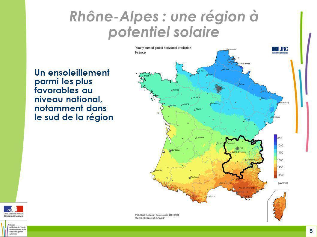Rhône-Alpes : une région à potentiel solaire