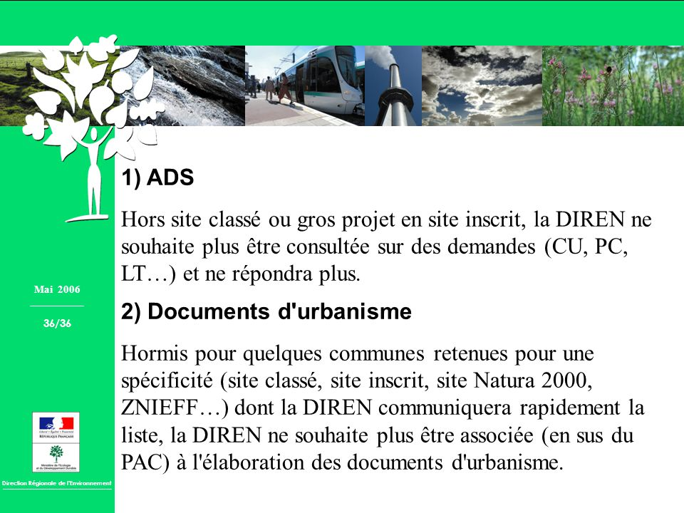 2) Documents d urbanisme