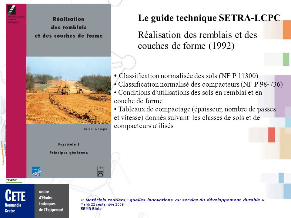 Le guide technique SETRA-LCPC