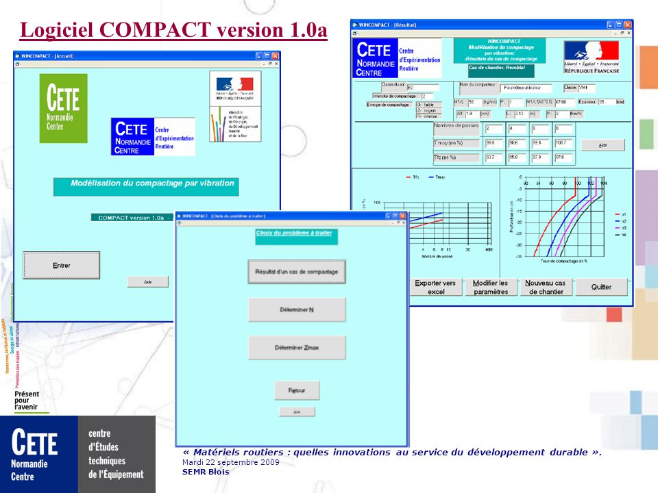 Logiciel COMPACT version 1.0a