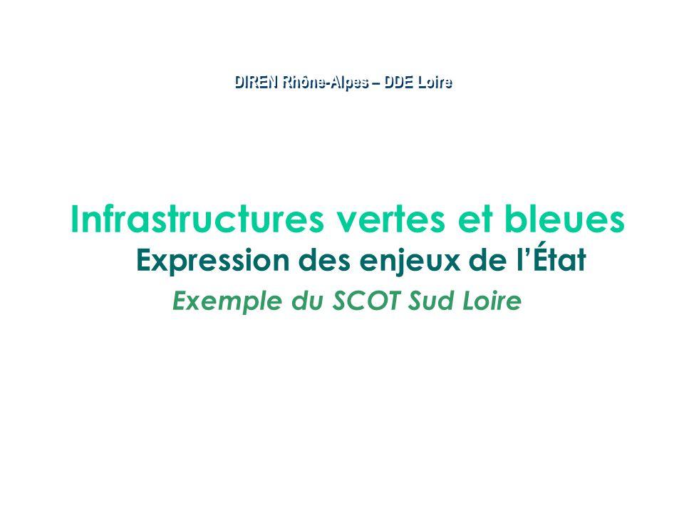 Infrastructures vertes et bleues Expression des enjeux de l'État