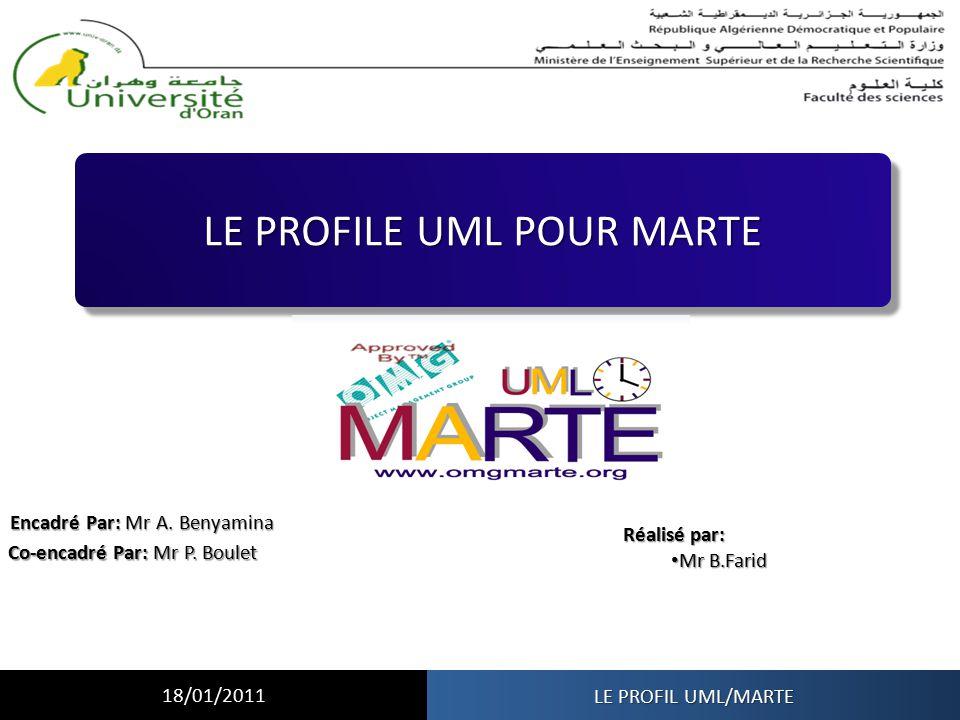 LE PROFILE UML POUR MARTE