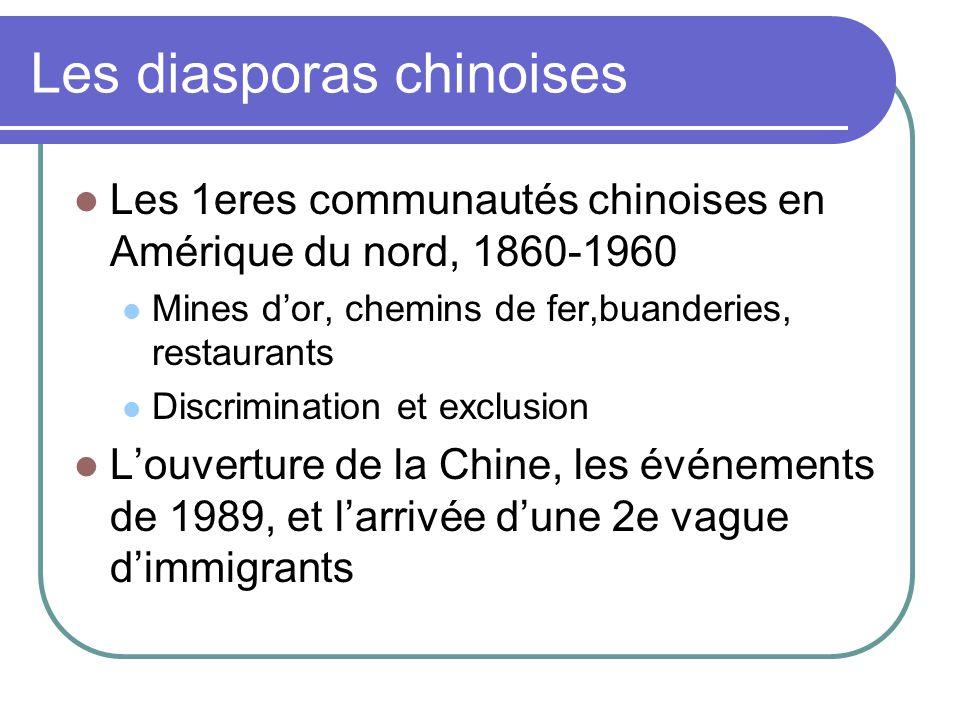 Les diasporas chinoises