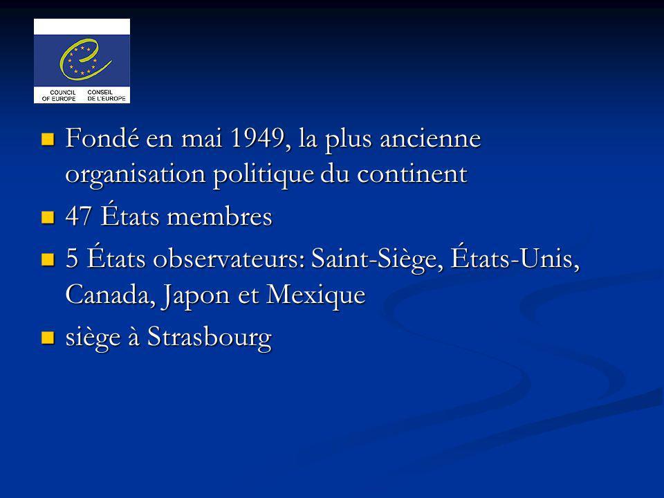 Fondé en mai 1949, la plus ancienne organisation politique du continent
