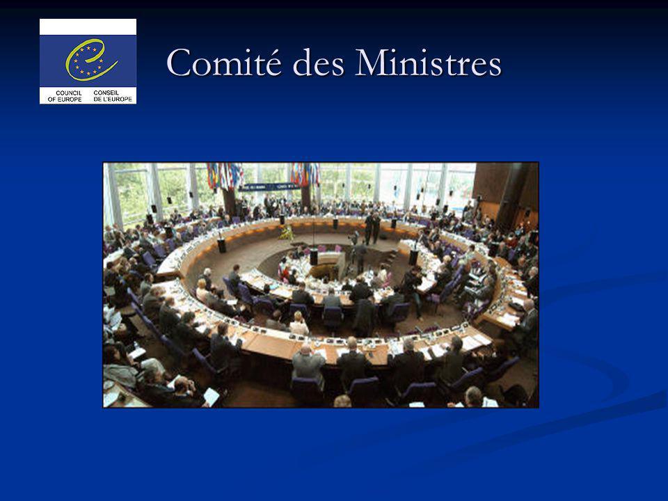 Comité des Ministres