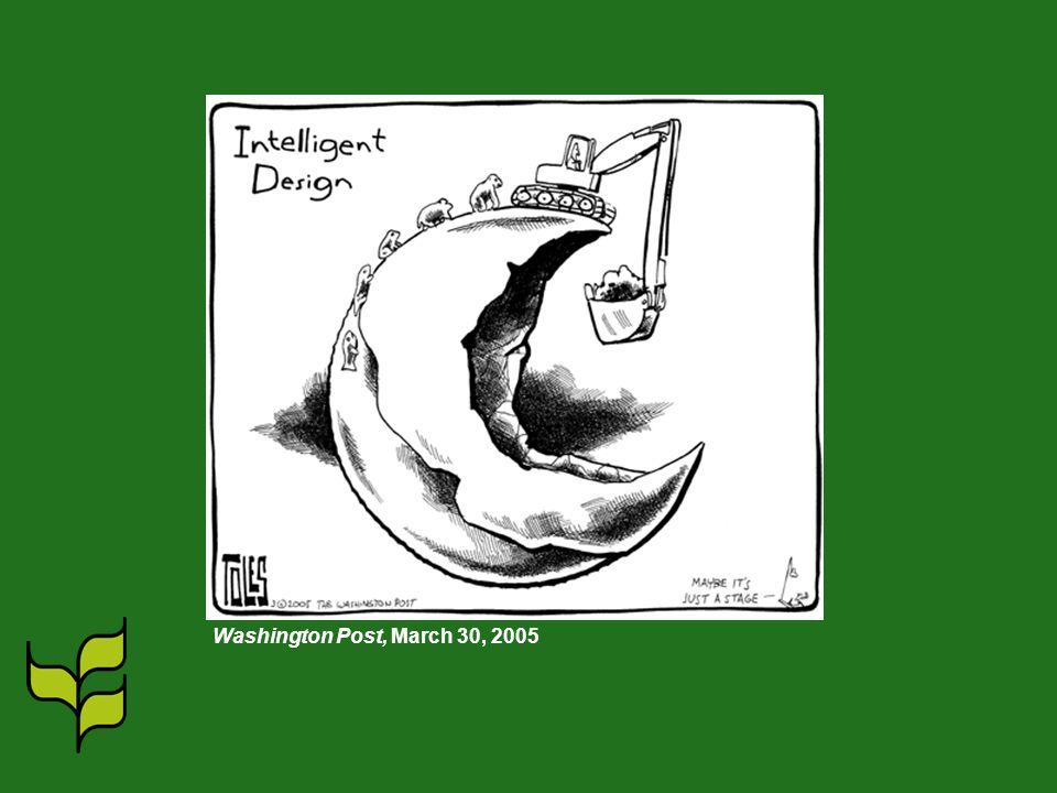 Washington Post, March 30, 2005