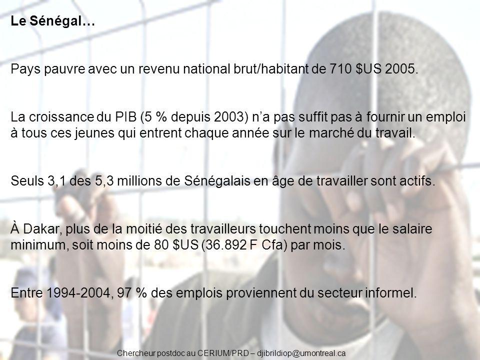 Pays pauvre avec un revenu national brut/habitant de 710 $US 2005.